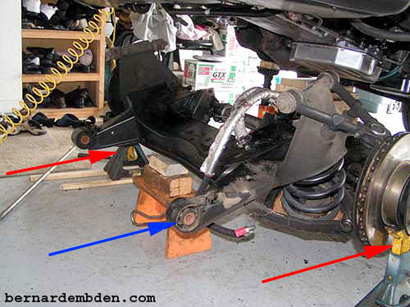 Removing Front Suspension Cradle